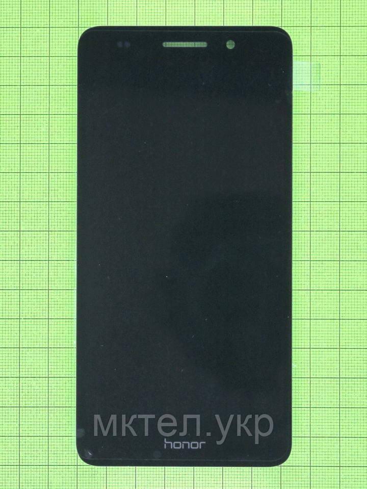 Дисплей Huawei Y6 II с сенсором, черный self-welded