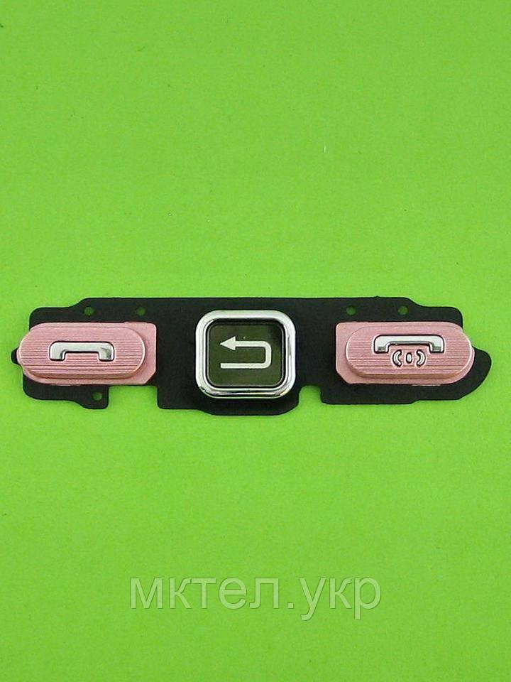 Клавиатура Samsung S5230 Star функциональная, розовый Оригинал #GH98-11972C