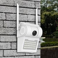 Камера видеонаблюдения домофон с LED фонарем D2 WIFI IP with light 2.0mp