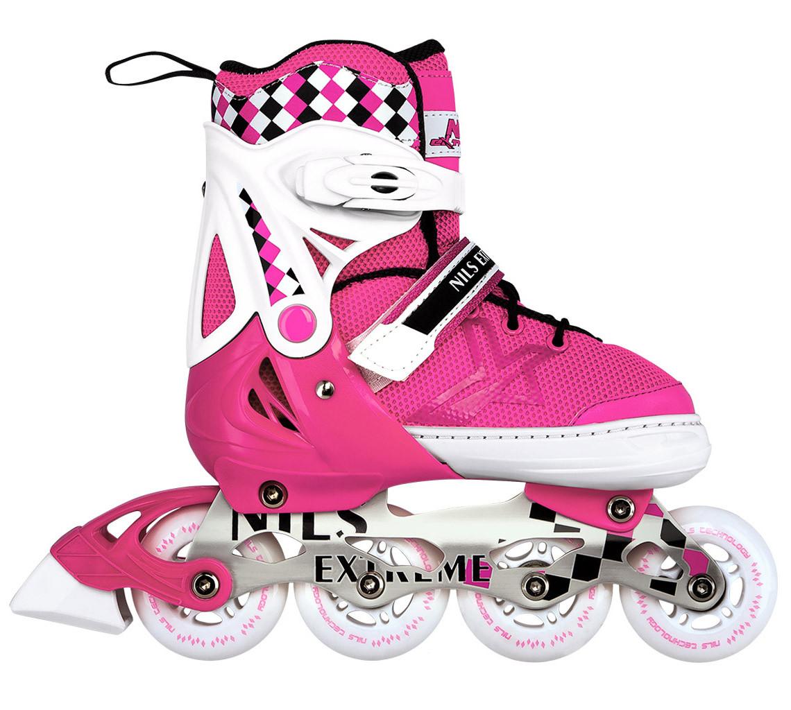 Роликові ковзани Nils Extreme NA13911A Size 39-42 Pink