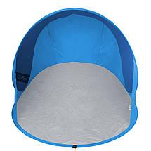 Пляжный тент SportVida 190x120 см SV-WS0006 Blue/Sky Blue, фото 3