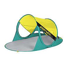 Пляжный тент SportVida 190x120 см SV-WS0007 Yellow/Green
