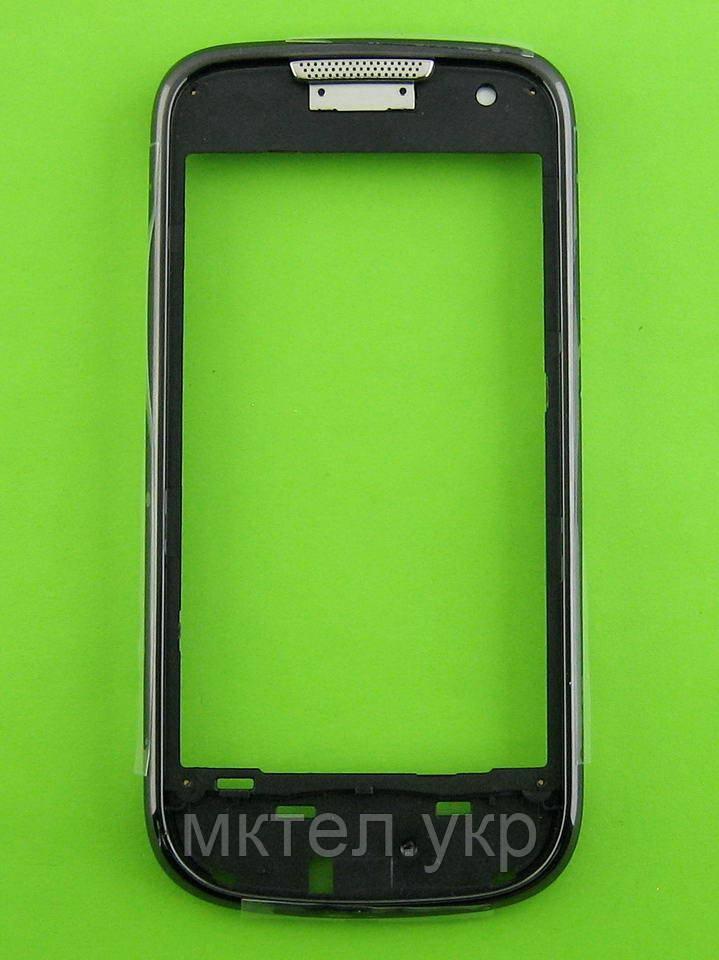 Передняя панель Samsung B7722 Duos, черный, Оригинал #GH98-16703A