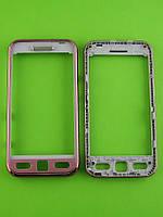 Передняя панель Samsung S5230 Star, розовый orig-china