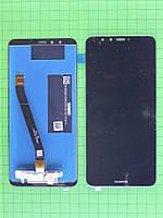 Дисплей Huawei Y9 2018 с сенсором, черный self-welded