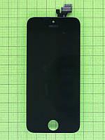 Дисплей iPhone 5 с сенсором, черный copyAA (LT)