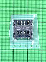 Коннектор SIM карты Doogee X5 Max Оригинал #DGA48-DZ017-00