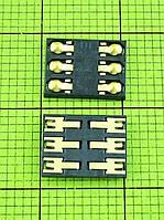 Коннектор SIM карты FLY IQ442 Quad Miracle 2 Оригинал #TY012089Y7