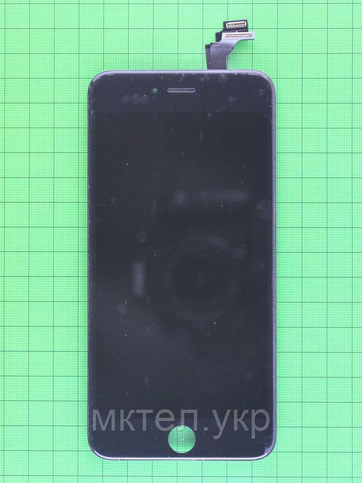 Дисплей iPhone 6 plus с сенсором, черный copyAA (LT)