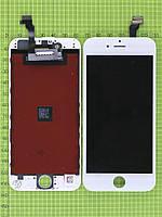 Дисплей iPhone 6 с сенсором, белый copyAA (OLD TM)