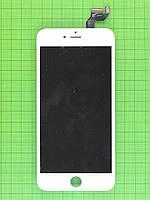 Дисплей iPhone 6S plus с сенсором, белый copyAA (LT)