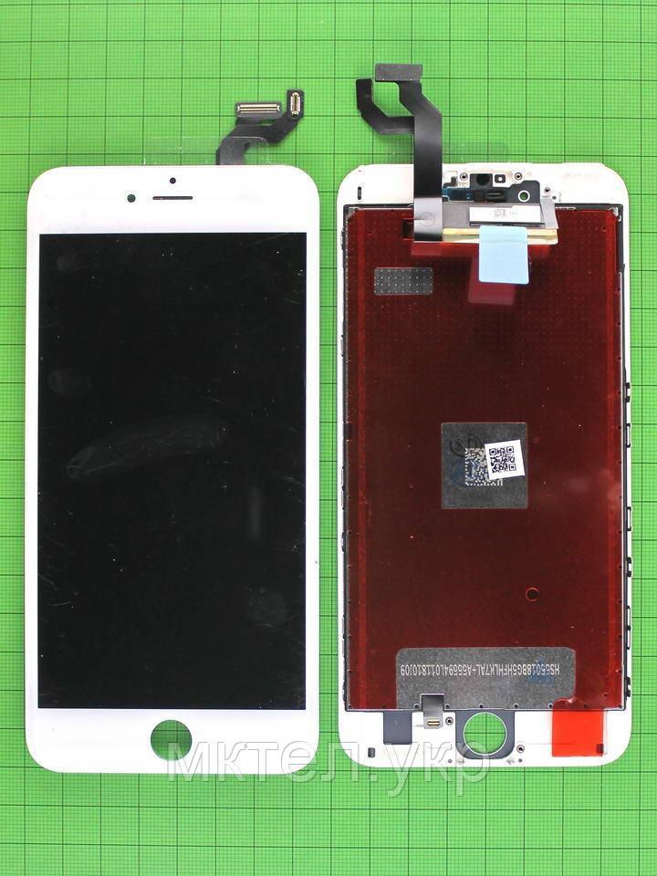 Дисплей iPhone 6S plus с сенсором, белый copyAA (OLD TM)