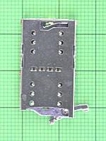 Коннектор SIM,T-Flash карты Nomi i5071 Iron-X1 Оригинал