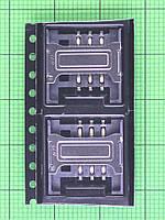 Коннектор SIM1 карты Nomi i282 Оригинал