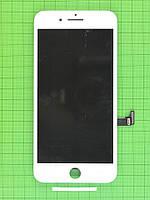 Дисплей iPhone 7 plus с сенсором, белый copyAA (LT)