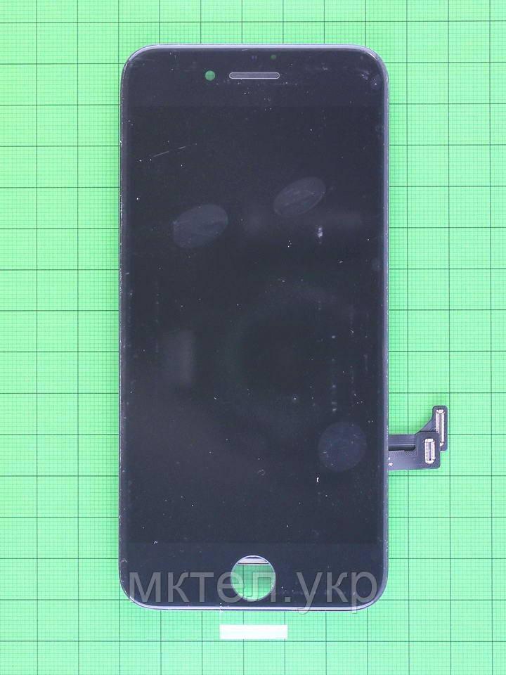 Дисплей iPhone 7 с сенсором, черный copyAA (LT)
