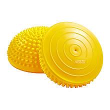 Полусфера массажная балансировочная (массажер для ног, стоп) 4FIZJO Balance Pad 16 см Yellow