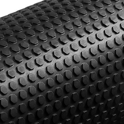 Массажный ролик (валик, роллер) 4FIZJO EVA 60x15 см Black, фото 2