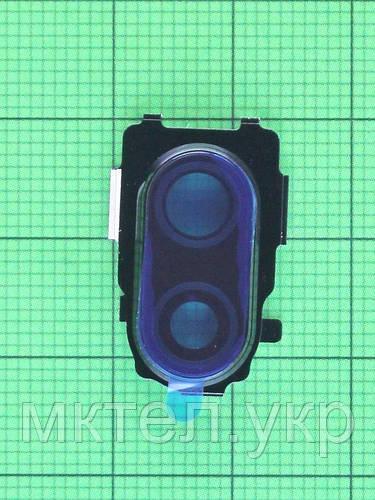 Декор камеры Xiaomi Redmi Note 7, черный Оригинал