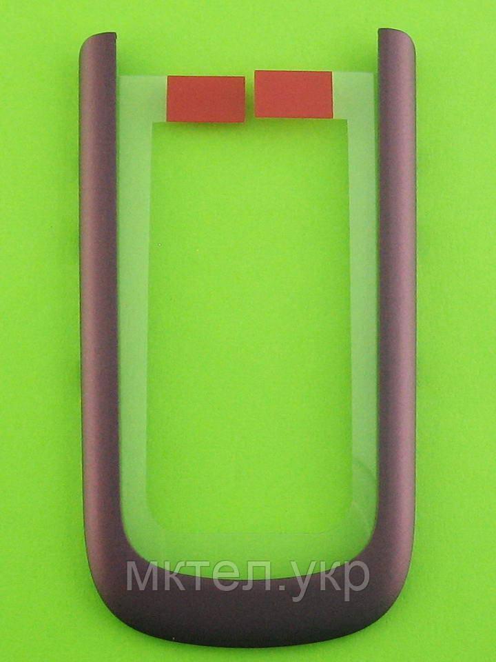 Наружная рамка верхней части Nokia 3710 fold, сиреневый Оригинал #0255855
