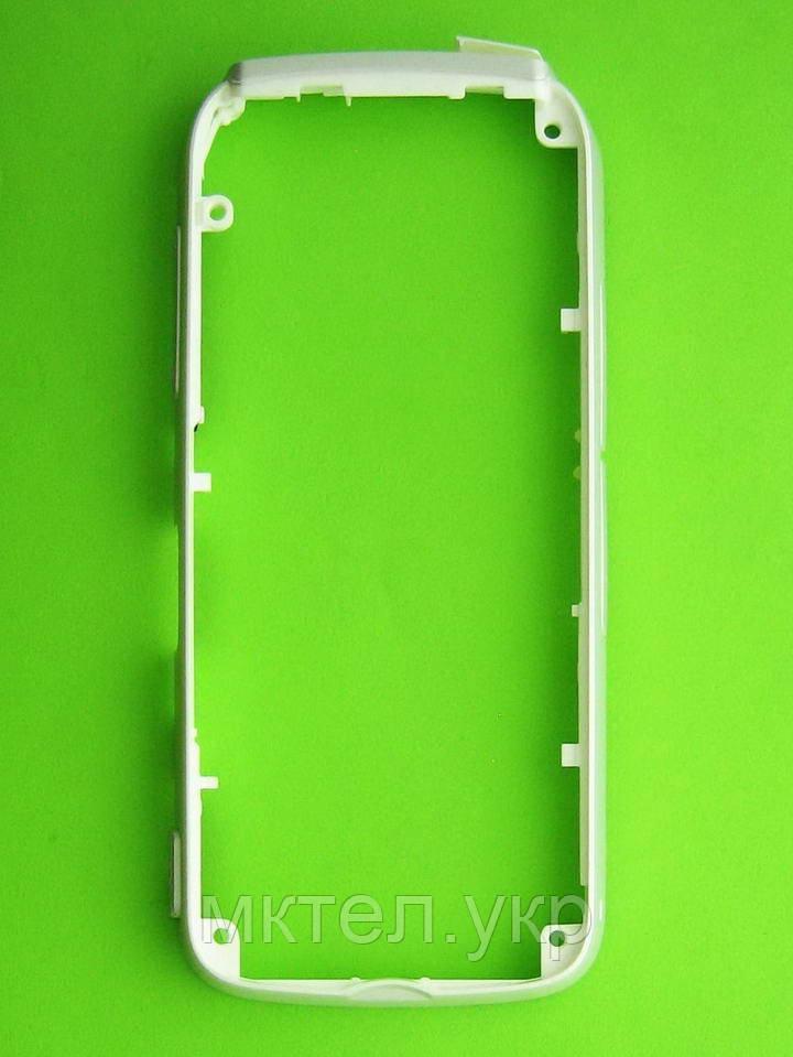 Рамка корпуса Nokia 5230, белый Оригинал #0255624