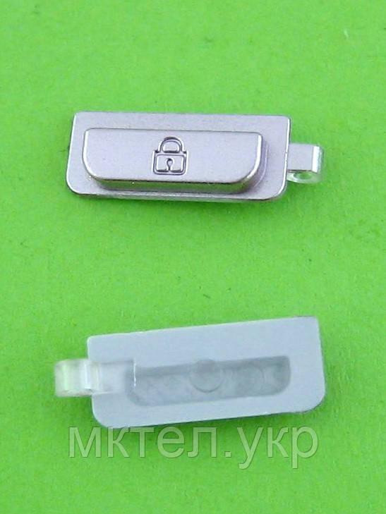 Кнопка блокировки Samsung S5230 Star, розовый Оригинал #GH72-52560C