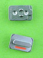 Кнопка вибромотора iPhone 4G, серебристый orig-china