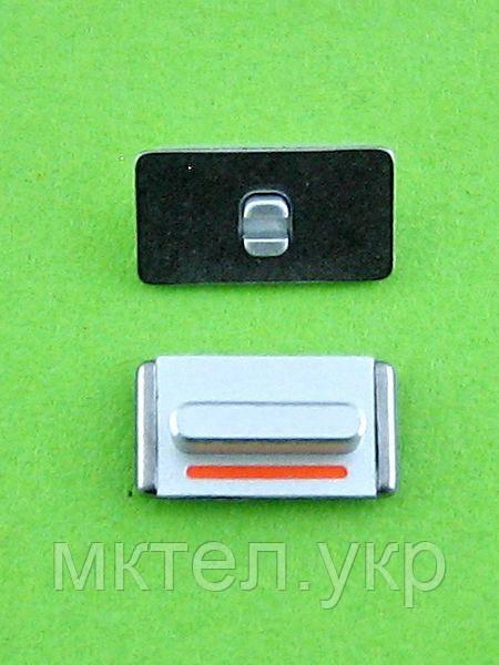 Кнопка вибромотора iPhone 5, серебристый orig-china