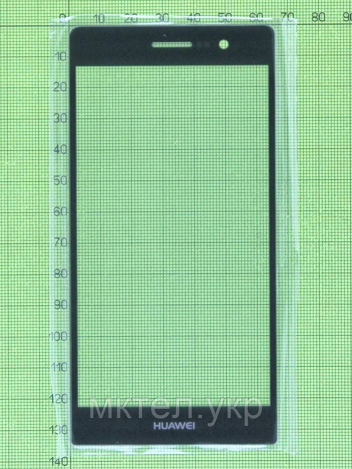 Стекло сенсора Huawei Ascend P7 Sophia, черный copyAA
