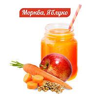 Вітамінно-білковий коктейль МОРКВА-ЯБЛУКО, 20 г, клітинне харчування, фото 1