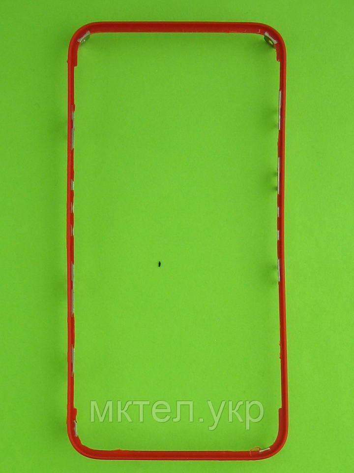 Рамка сенсора iPhone 4G, красный copy