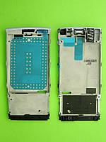 Металлическая основа Nokia X3-02, в сборе, лиловый, Оригинал #0257578