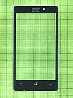Стекло сенсора Nokia Lumia 925, черный copyAA