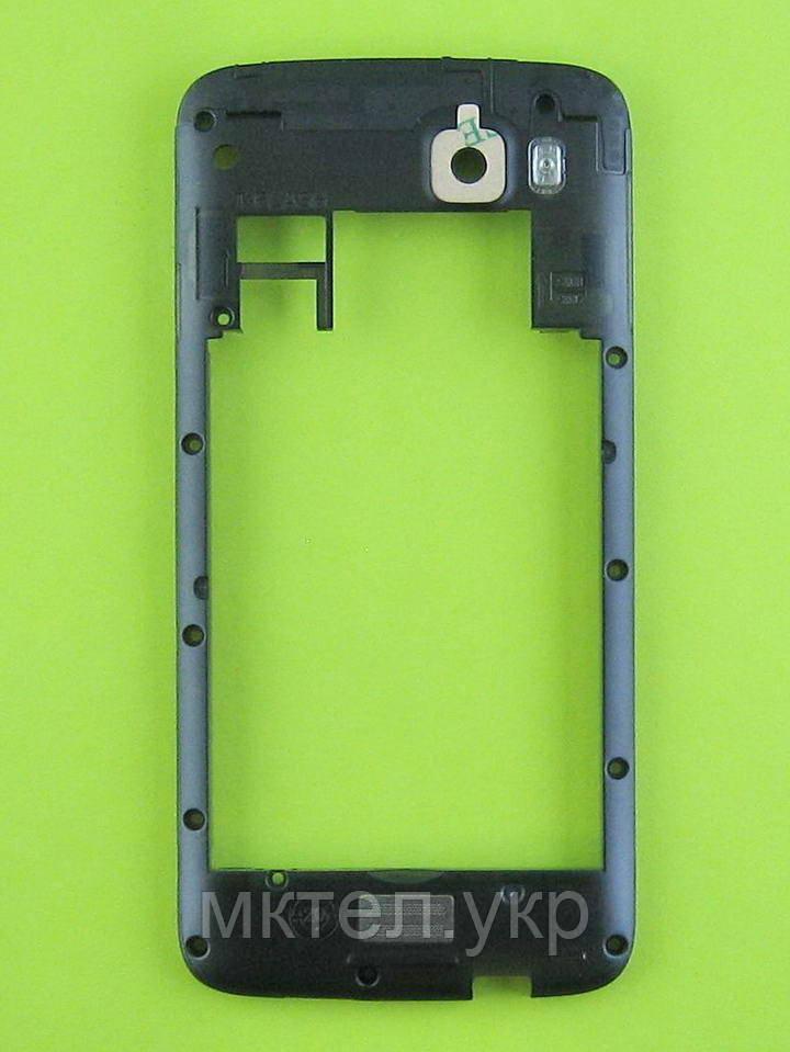 Средняя часть FLY IQ4411 Quad Energie 2 с антенной, черный, Оригинал #170700843