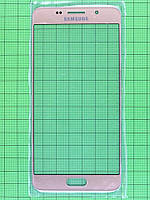 Стекло сенсора Samsung Galaxy A5 2016 A510 Золотистый copyAA