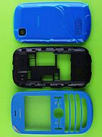 Корпус Nokia Asha 200, синий copyAA