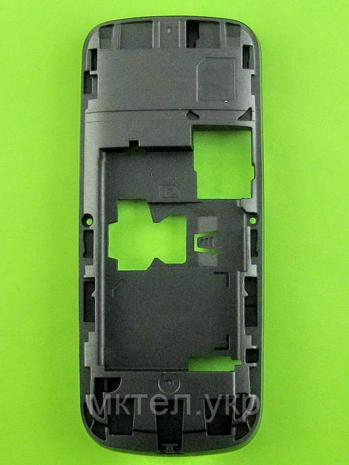 Средняя часть Nokia 109, черный, Оригинал #02502L3