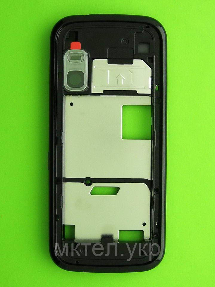 Средняя часть Nokia 5730 в сборе, черный Оригинал #0255069