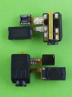 Разъем гарнитуры Samsung S7230 Wave 723 с шлейфом, динамиком, Оригинал #GH59-10212A