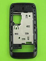 Средняя часть Nokia Asha 309 в сборе, черный, Оригинал #0259861