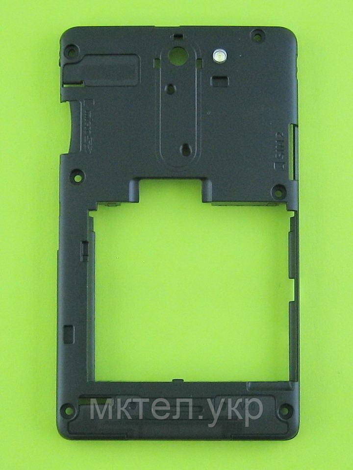 Средняя часть Nokia Asha 502 Dual SIM, черный, Оригинал #02503V2