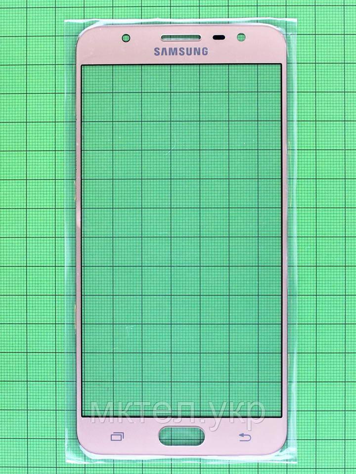 Стекло сенсора Samsung J7 Prime 2018 G610F Золотистый orig-china