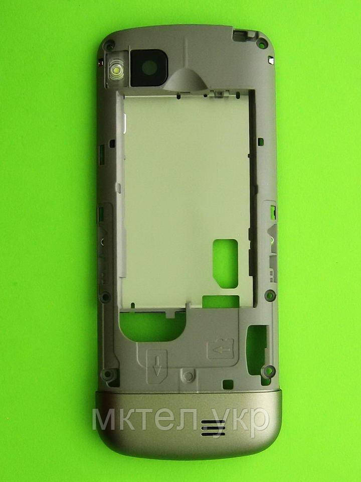 Средняя часть Nokia C3-01 в сборе, золотистый Оригинал #0258395