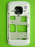 Средняя часть Nokia E5 в сборе, белый, Оригинал #0257073