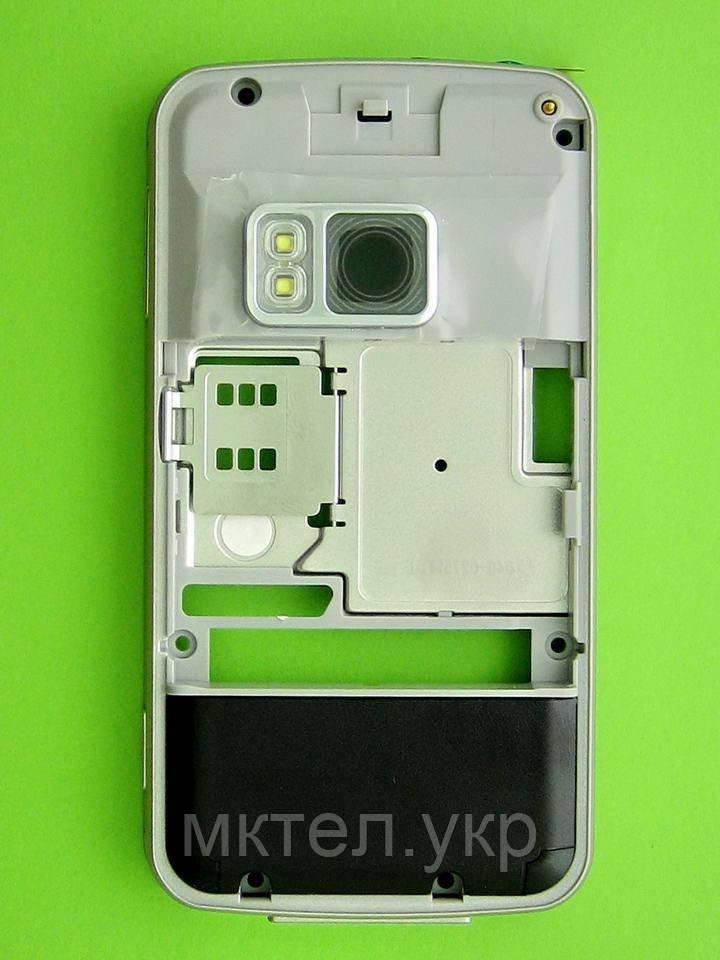 Средняя часть Nokia N96 в сборе, коричневый Оригинал #0251903