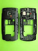 Средняя часть Nokia X2-01 в сборе, черный Оригинал #0258038