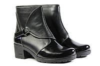 Женские ботинки кожаные