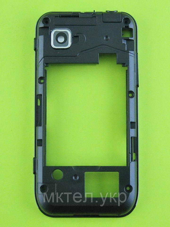 Средняя часть Samsung S5250 Wave 525, черный, Оригинал #GH98-17543A