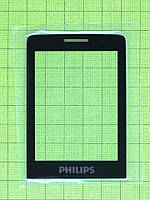 Стекло Philips Xenium E570 Dual SIM, черный orig-china