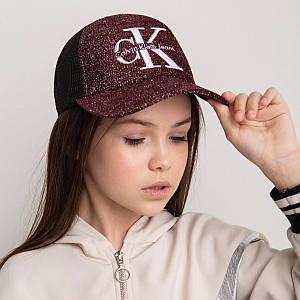 Модна кепка для дівчаток і жінок на літо оптом - CK